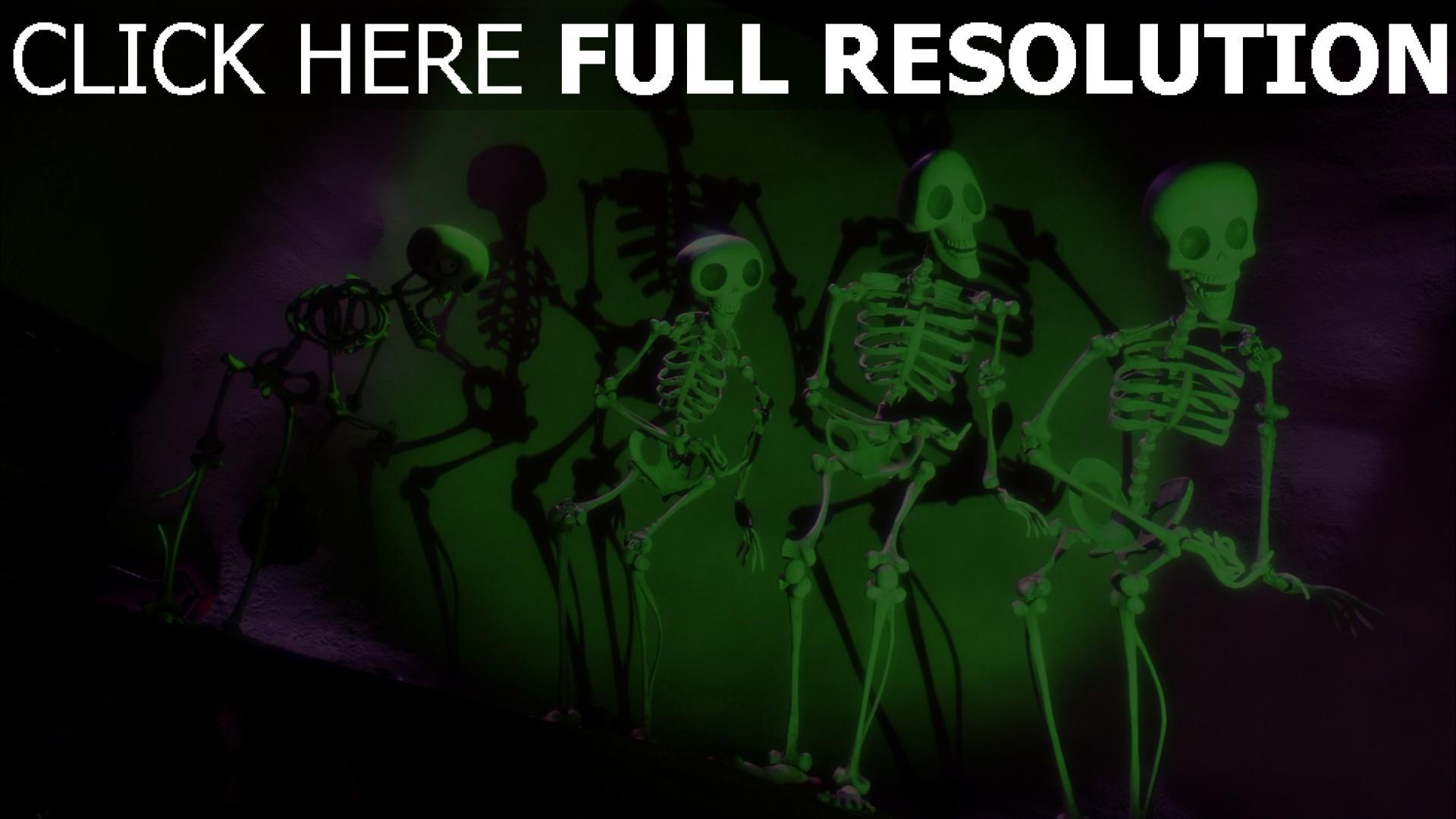 hd hintergrundbilder skelette tanz corpse bride 1920x1080
