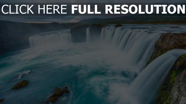 hd hintergrundbilder wasserfälle wasser fluss klippe berg hoch