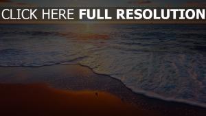 wellen strand surfen himmel sonne sonnenuntergang