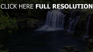 canyons felsen wasserfall felsen höhe