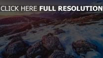 schnee berge felsen steine höhe