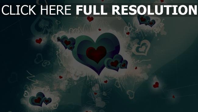 hd hintergrundbilder herz symbol hell romantisch