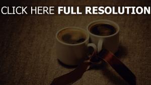kaffee schale band romantik