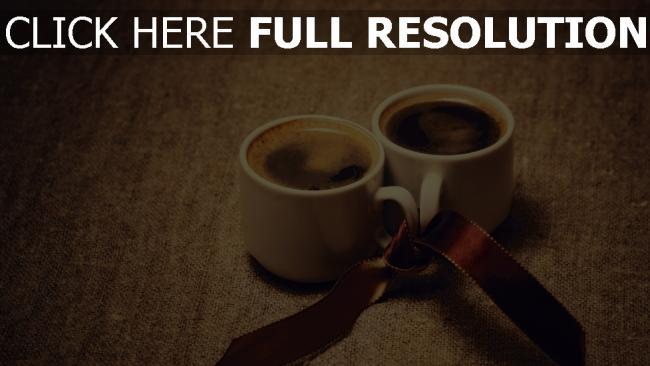 hd hintergrundbilder kaffee schale band romantik