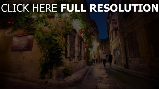 hd hintergrundbilder straße frankreich nacht gebäude paar romantik