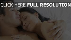 paar traum umarmung zärtlichkeit romantik