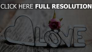 rose briefe metall romantik