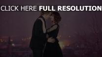 paar romantik umarmungen liebe tanz