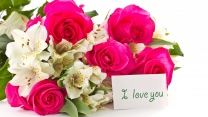 blumenstrauß rosen blumen romantik
