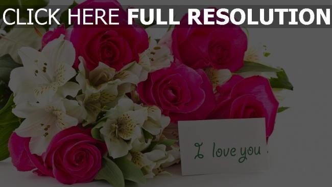 hd hintergrundbilder blumenstrauß rosen blumen romantik