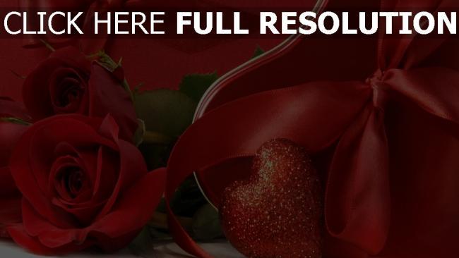 hd hintergrundbilder blumen bänder bögen geschenk romantik