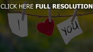 herz notizen wäscheklammern anerkennung romantik