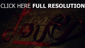 band rot zeichen buchstaben romantik