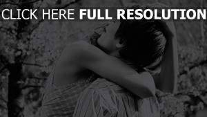 paar umarmen zuneigung liebevoll