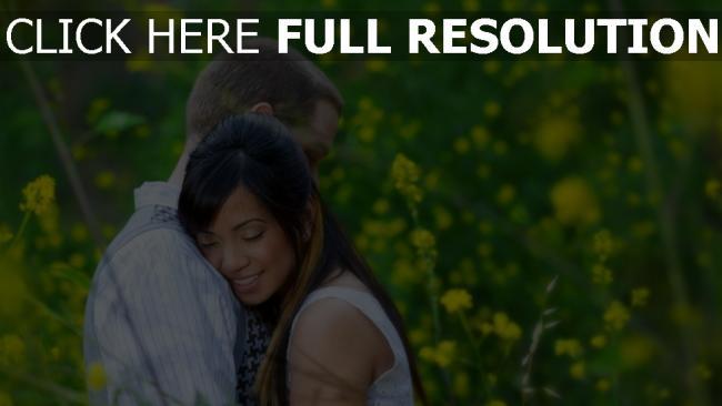 hd hintergrundbilder paar umarmen zärtlich romantisch