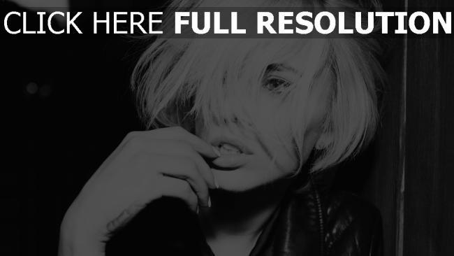 hd hintergrundbilder blond foto-shooting modell augen bw alysha nett