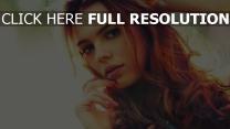 augen make-up roten haaren haare mädchen