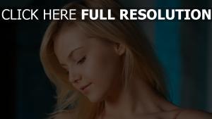 blond gesicht haare augen