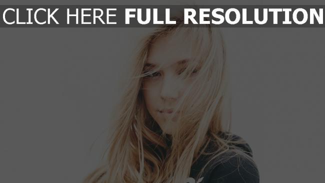 hd hintergrundbilder alexis ren blond gesicht wind