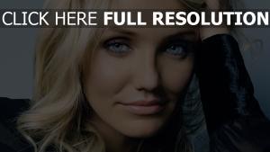 cameron diaz blaue augen blondes haar lächeln