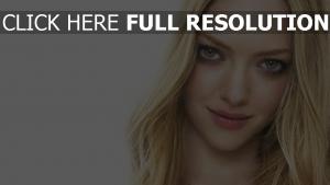 amanda seyfried schauspielerin blond grüne augen