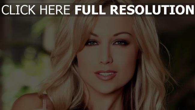 hd hintergrundbilder blond grau augen make-up gesicht