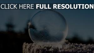 ball frost raureif