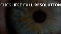 close-up auge pupille