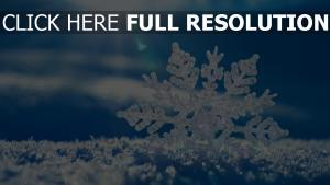 schneeflocke schnee rochen winter