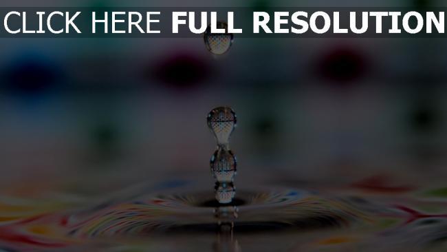 hd hintergrundbilder tropfen flüssigkeit wasser muster mehrfarbig