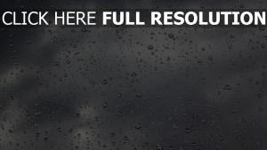 tropfen regen glas wolken reflexion
