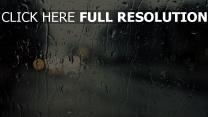 tropfen regen feuchtigkeit glas