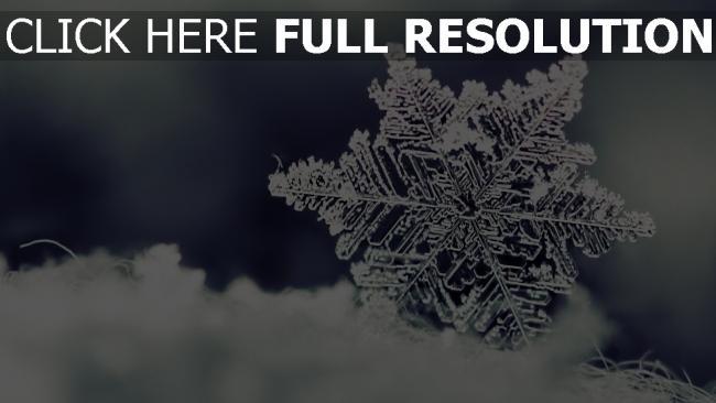 hd hintergrundbilder schneeflocke eis muster schnee winter