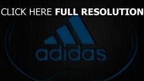 adidas logo blau oberfläche textur