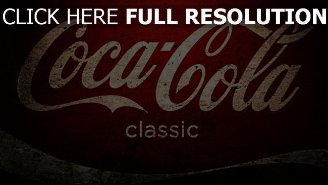 hd hintergrundbilder coca cola logo weiß rot textur