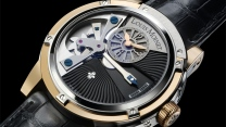 louis moinet armbanduhr armband schwarz