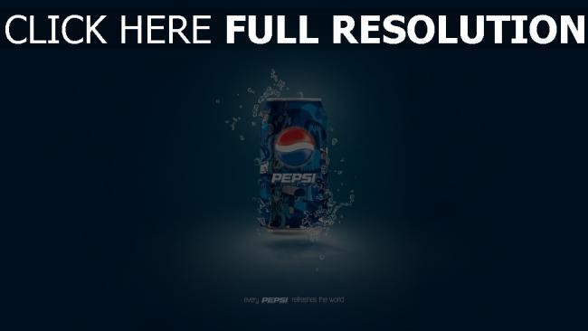 hd hintergrundbilder pepsi bank getränk blau logo