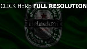 heineken logo grün satin stoff