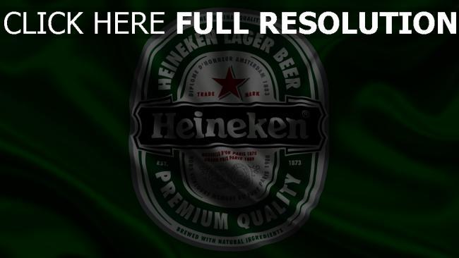 hd hintergrundbilder heineken logo grün satin stoff