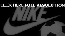 nike logo ball fußball emblem