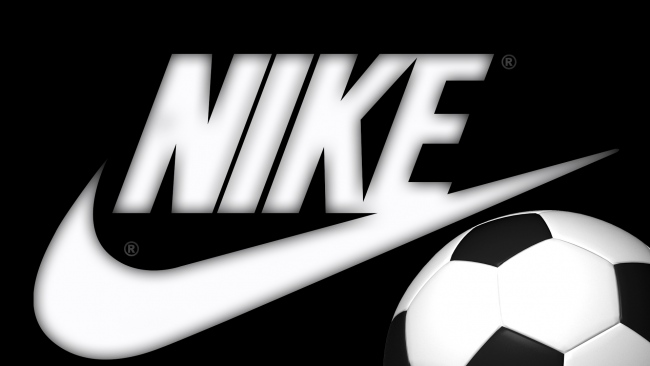 hd hintergrundbilder nike logo ball fußball emblem