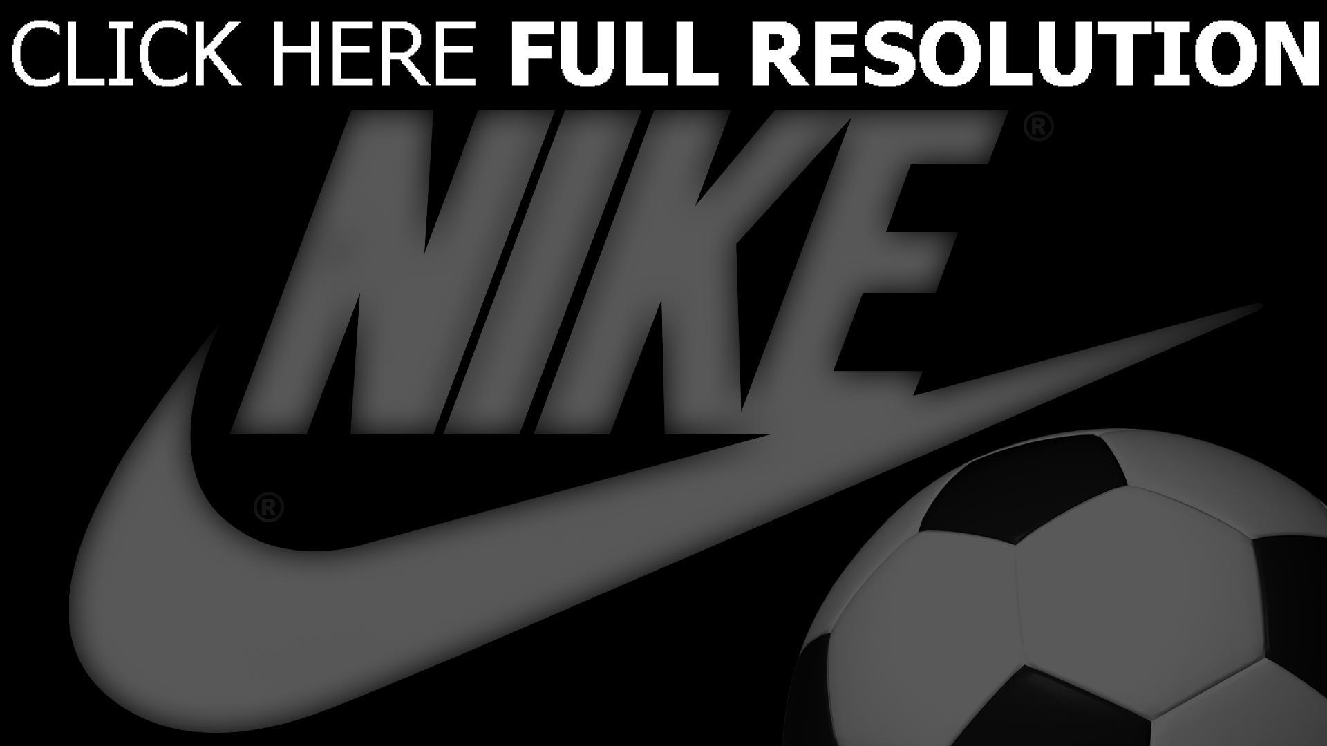 hd hintergrundbilder nike logo ball fußball emblem 1920x1080