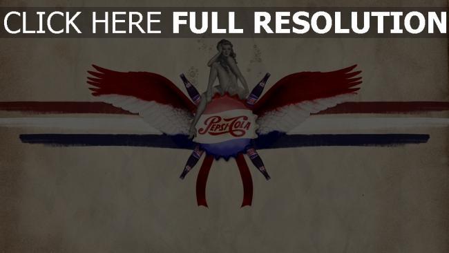 hd hintergrundbilder pepsi-cola cola getränk gasierte logo