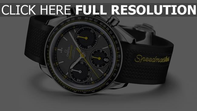 hd hintergrundbilder omega speedmaster armbanduhr stahl schwarz