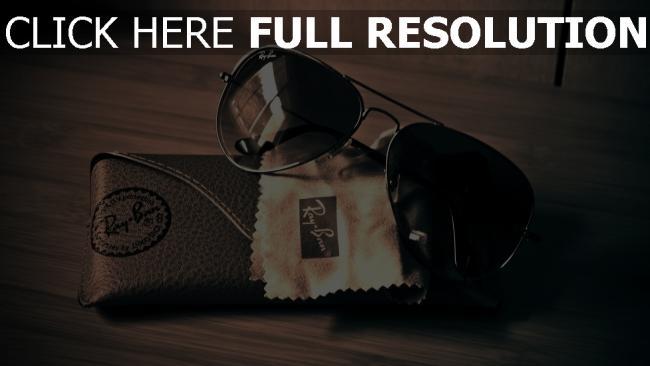 hd hintergrundbilder ray ban sonnenbrille sonnenschutz auflagen tisch