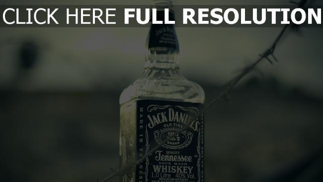 hd hintergrundbilder jack daniels whisky alkohol glas flasche
