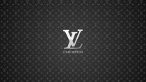 louis vuitton logo schriftzug buchstaben dunkel