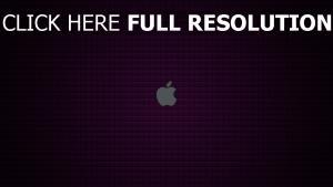 apple logo grau quadrate muster textur