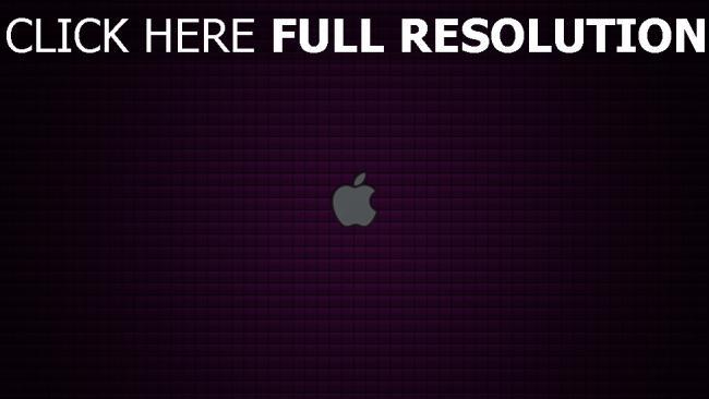 hd hintergrundbilder apple logo grau quadrate muster textur