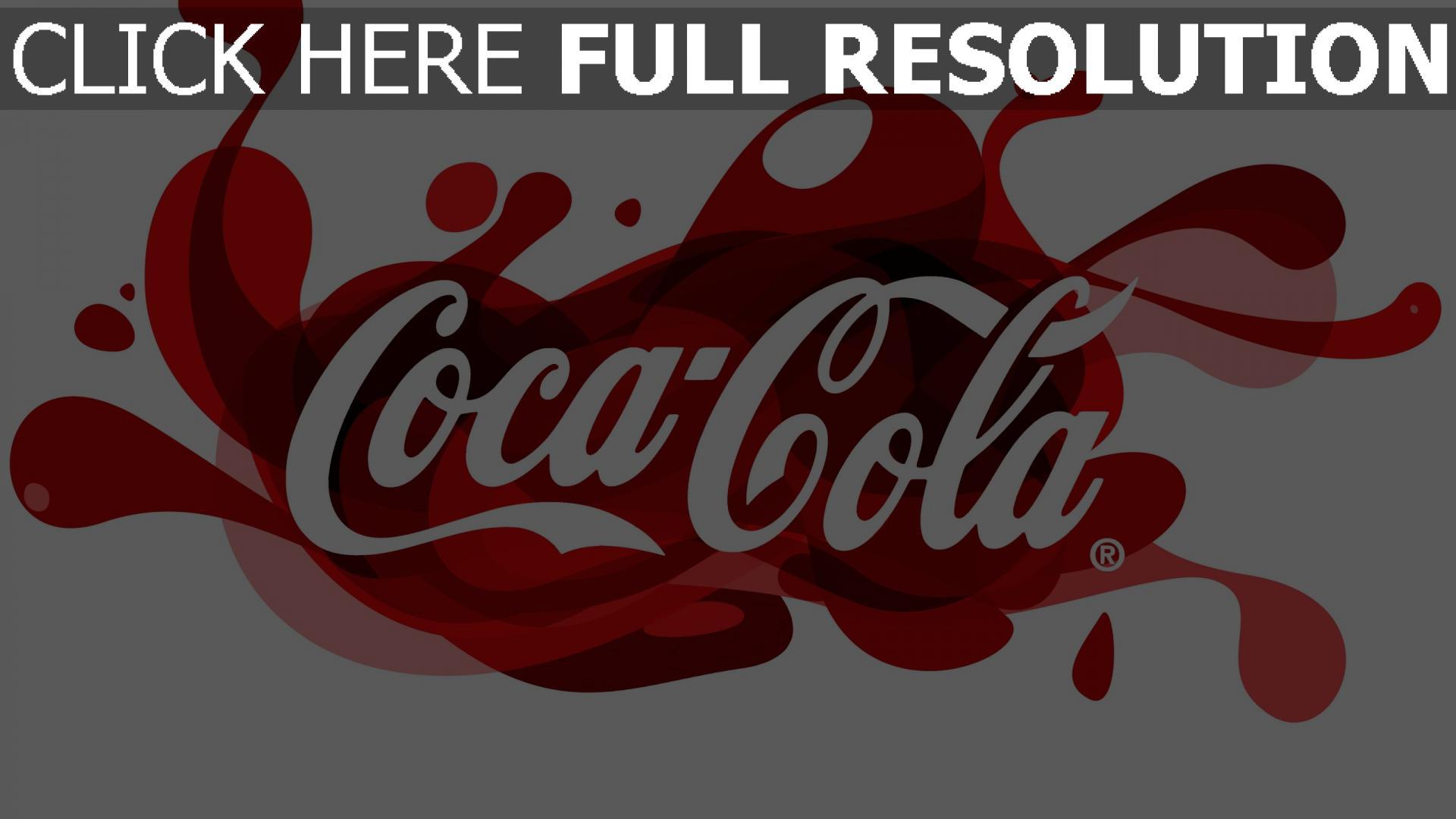 hd hintergrundbilder coca-cola logo trinken unternehmen muster 1920x1080